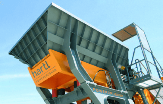 Hartl PC 1055 J - Bérlés betondarálás